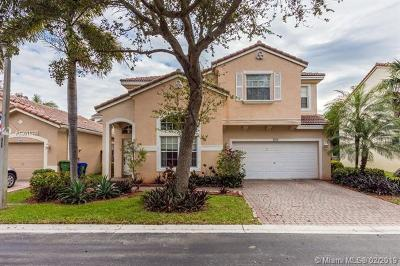 Pembroke Pines Single Family Home For Sale: 7516 NW 18th Dr