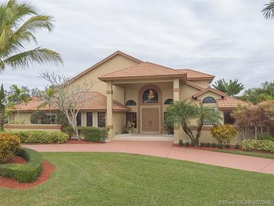 Davie Single Family Home For Sale: 11871 SW 43rd St
