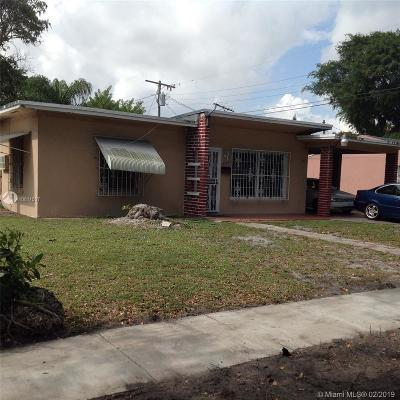 North Miami FL Single Family Home Sold: $140,000