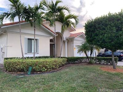 Cutler Bay Single Family Home For Sale: 7446 SW 188th Ln