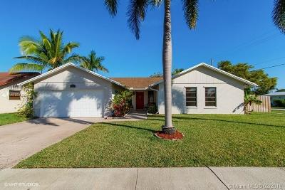 Oakland Park Single Family Home Active With Contract: 1701 NW 42nd St