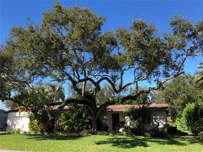 Single Family Home For Sale: 8465 SW 108th St