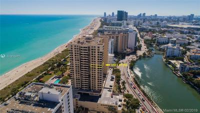 Miami Beach Condo For Sale: 2555 Collins Ave #1702