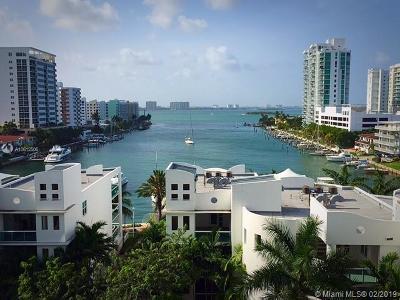 North Bay Village Rental For Rent: 7900 Harbor Island Dr #702