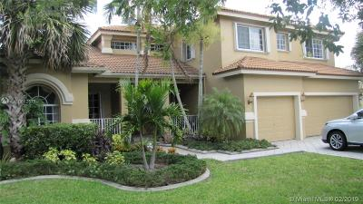 Cooper City Single Family Home For Sale: 13071 Parkside Ter