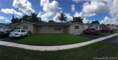 Lauderhill Single Family Home For Sale: 5310 NW 17th St