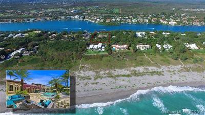 Hobe Sound FL Single Family Home For Sale: $11,800,000