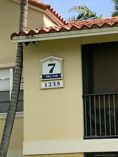 Pompano Beach Condo For Sale: 1253 SW 46 Ave #1609