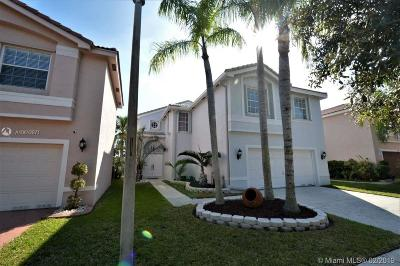 Pembroke Pines, Miramar Single Family Home Active With Contract: 17978 SW 30th Ct