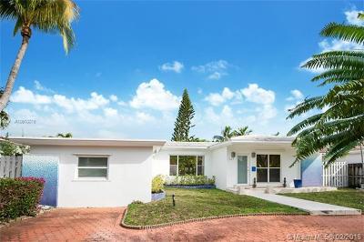 Miami Beach Single Family Home For Sale: 245 Fairway Dr