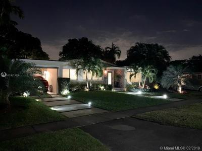 North Miami Single Family Home Active With Contract: 155 NE 132nd St
