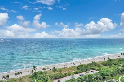 Hollywood Condo Active With Contract: 1201 Ocean #2105N
