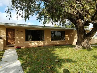 South Miami Single Family Home Active With Contract: 6030 SW 62 Place