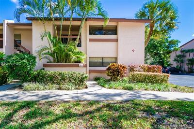 Coconut Creek Condo Active With Contract: 2630 NW 42nd Ave #1109