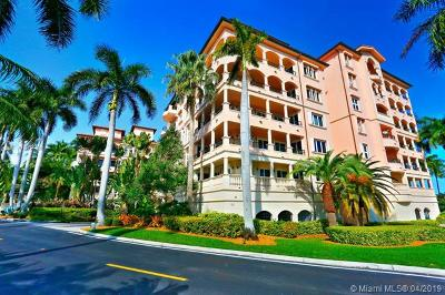Coral Gables Condo For Sale: 13641 Deering Bay Dr #128