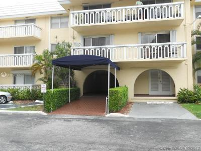 Coral Gables Condo Active With Contract: 100 Edgewater Dr #234