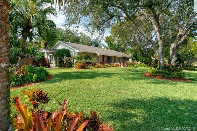 Palmetto Bay Single Family Home Sold: 18122 SW 87th Pl