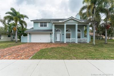 Davie Single Family Home For Auction: 3098 Perriwinkle Cir