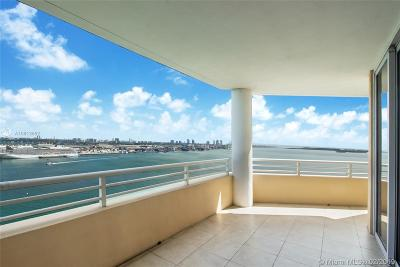 Miami Condo Active With Contract: 848 Brickell Key Dr #2101