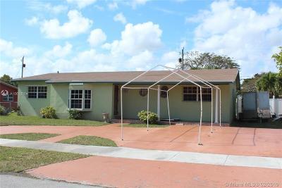 Cutler Bay Single Family Home Active With Contract: 20600 Jacaranda Rd