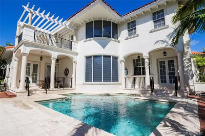 Key Biscayne Single Family Home For Sale: 798 Ridgewood Rd