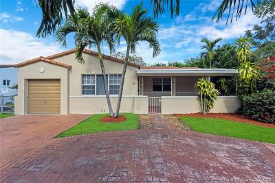 Miami Shores Single Family Home For Sale: 55 NW 92nd St