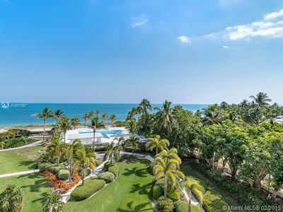 Sands Of Key Biscayne Con Condo For Sale: 609 Ocean Dr #6H