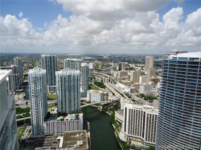 Miami Condo For Sale: 465 Brickell Ave #5606