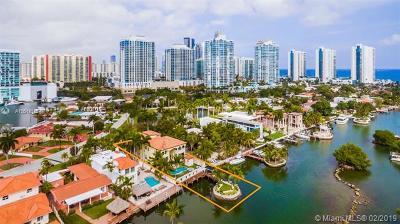 Sunny Isles Beach Single Family Home For Sale: 288 Atlantic Isle