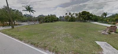 Palmetto Bay Residential Lots & Land For Sale: 14200 Old Cutler Rd