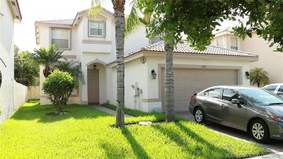 Miramar Single Family Home For Sale: 1904 SW 149th Avenue