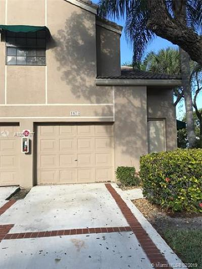 Coral Springs Condo For Sale: 1675 Cypress Pointe Dr #5B