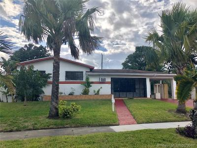 Miami Gardens Single Family Home For Sale: 18820 NW 11th Ave
