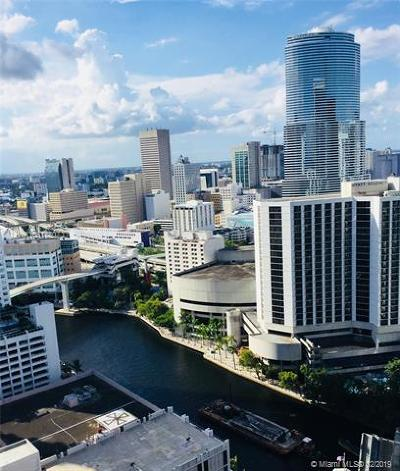 Miami Rental For Rent: 485 Brickell Ave #3006
