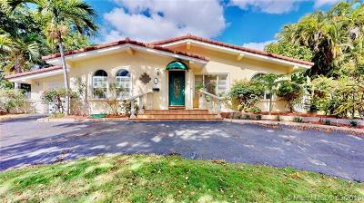 Coral Gables Single Family Home For Sale: 625 Jeronimo Dr