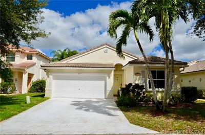 Coconut Creek Single Family Home For Sale: 5415 NW 49th Ct