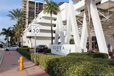 Akoya, Akoya Condo, Akoya Condominiums Condo For Sale: 6365 Collins Ave #2305