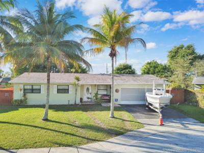 Margate Single Family Home For Sale: 6740 NW 26th St