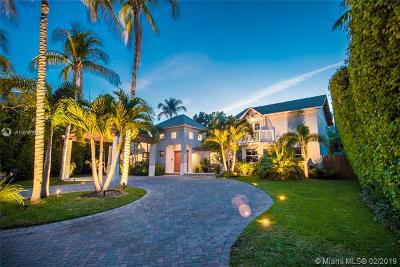 Key Biscayne Single Family Home For Sale: 470 W Palmwood Ln