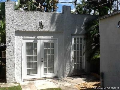 Coral Gables Rental For Rent: 641 Minorca Ave #cottage