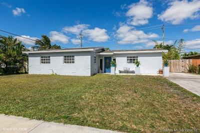 Hialeah Single Family Home Active With Contract: 7893 NW 170th Ter