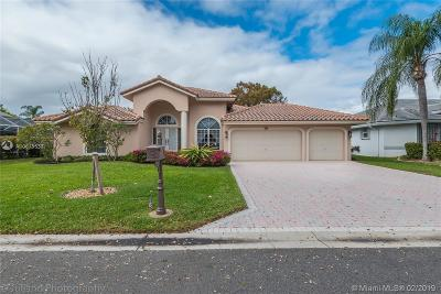 Coral Springs Single Family Home Active With Contract: 4288 NW 64th Ave