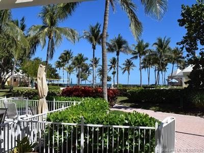 Key Biscayne Condo For Sale: 797 Crandon Blvd #Cabana 6