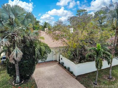 Wilton Manors Single Family Home For Sale: 810 NE 21st Dr
