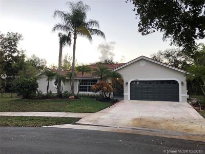 Coconut Creek Single Family Home For Sale: 4702 NW 51st St