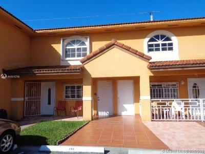 Hialeah Condo Active With Contract: 3578 W 80th St #62-201