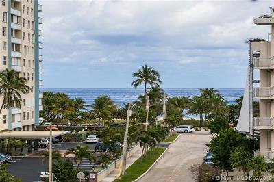 Pompano Beach Condo For Sale: 201 N Ocean Blvd #512