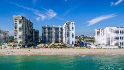 Fort Lauderdale Condo For Sale: 4300 N Ocean Blvd #19H