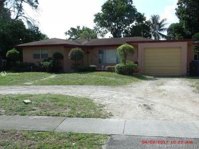 Fort Lauderdale Single Family Home For Sale: 720 E Melrose Cir
