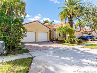 Miramar Single Family Home Active With Contract: 16410 SW 39th St